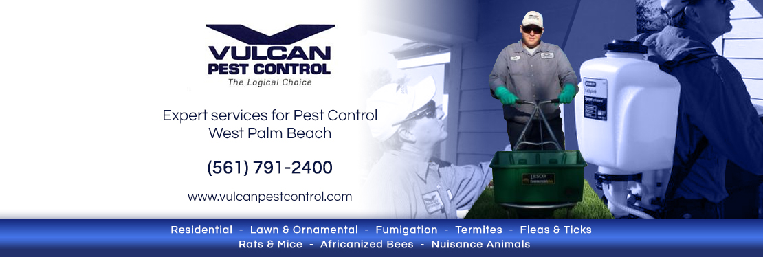Vulcan Pest Control reviews | Pest Control at 8254 Bama Ln #12 - West Palm Beach FL