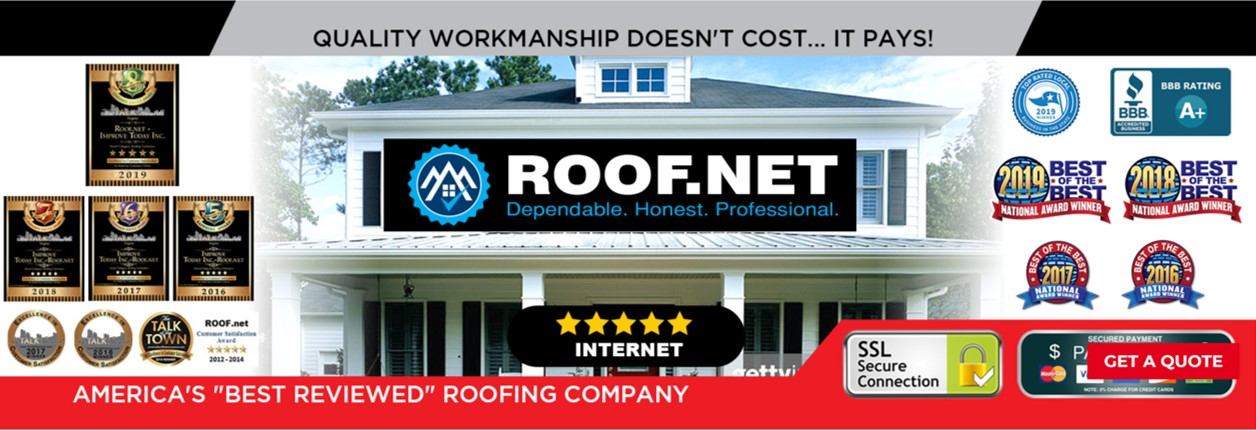Roof.net reviews | Roofing at 4094 Majestic Ln - Fairfax VA