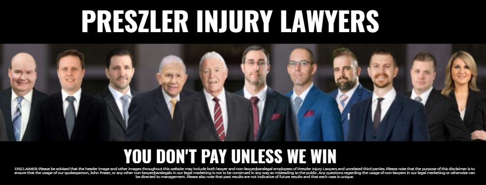 Preszler Law reviews | Personal Injury Law at 151 Eglinton Ave W - Toronto ON