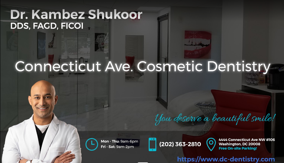 Connecticut Ave Cosmetic Dentistry reviews | Cosmetic Dentists at 4444 Connecticut Ave NW #106 - Washington DC