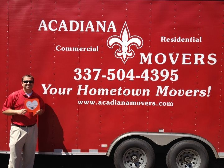 Acadiana Movers reviews | Movers at 2112 N University Ave - Lafayette LA