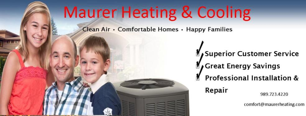 Maurer Heating & Cooling reviews | Heating & Air Conditioning/HVAC at 203 South Water Street - Owosso MI