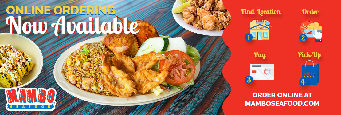 Mambo Seafood reviews | Restaurants at 4300 East Freeway  - Baytown TX