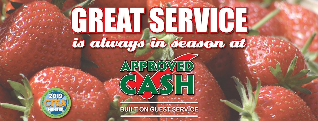 Approved Cash reviews | Financial Services at 8863 Goodman Rd. - Olive Branch MS