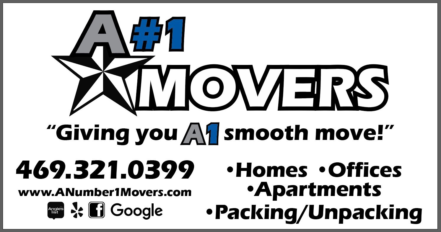 A#1 Movers reviews | Movers at 4185 Billy Mitchell Drive - Addison TX