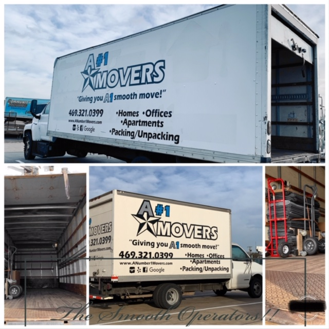 A#1 Movers reviews | Movers at 4186 Billy Mitchell Drive - Addison TX