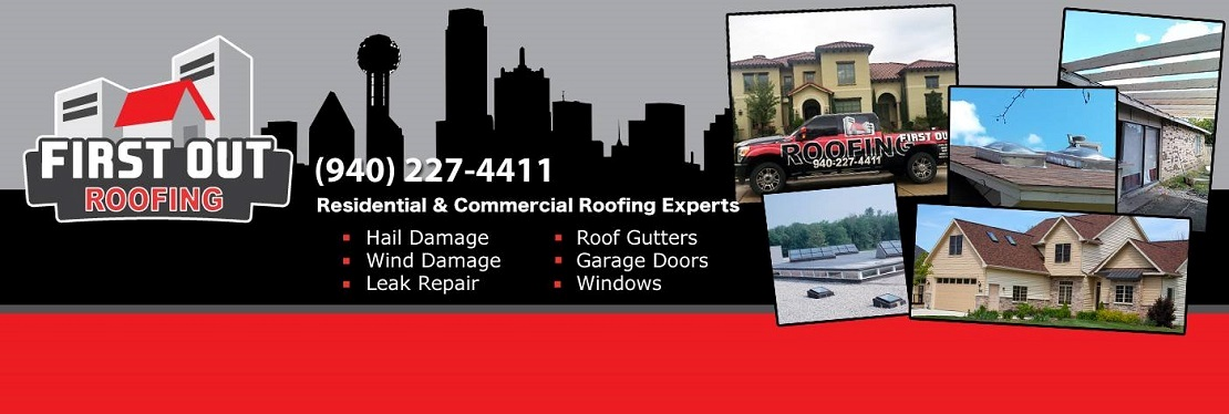 First Out Roofing reviews | Roofing at 4251 Farm to Market Road 2181 - Corinth TX