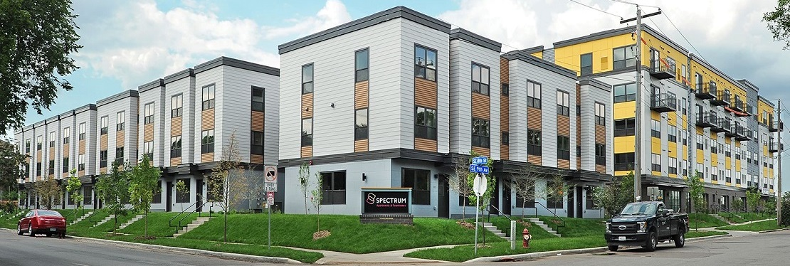 Spectrum Apartments & Townhomes reviews | Apartments at 815 SE 9th Ave - Minneapolis MN