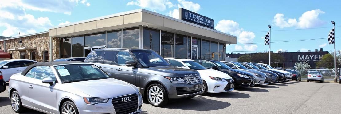 Birmingham Luxury Motors reviews | Car Dealers at 3501 4th Ave S - Birmingham AL