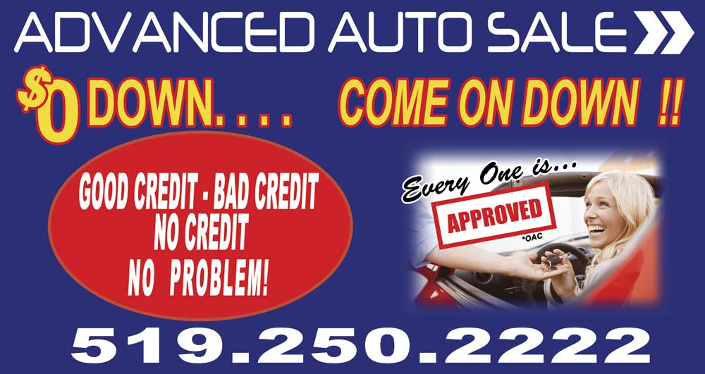 Advanced Auto Sale reviews   Used Car Dealers at 1725 Tecumseh Road West - Windsor ON
