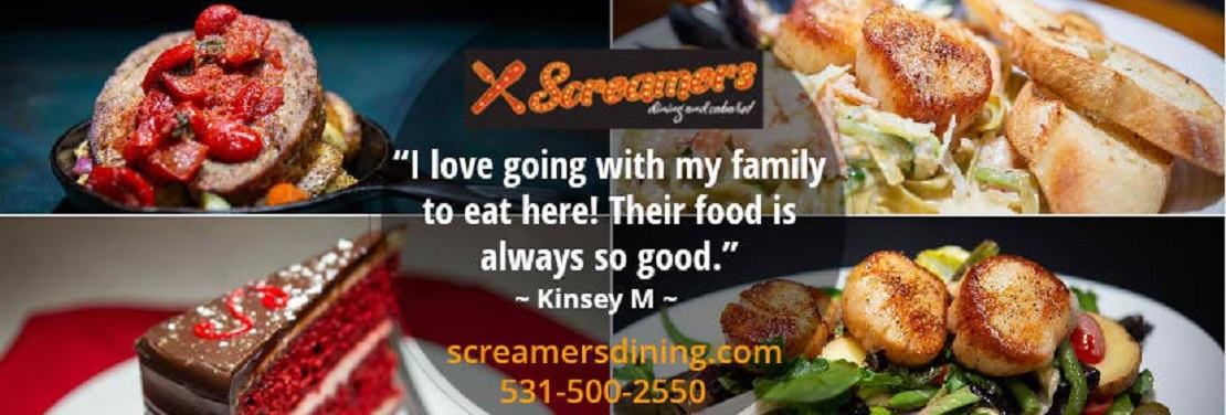 Screamers Dining and Cabaret: A Family Restaurant  reviews | Restaurants at 803 Q Street - Lincoln NE
