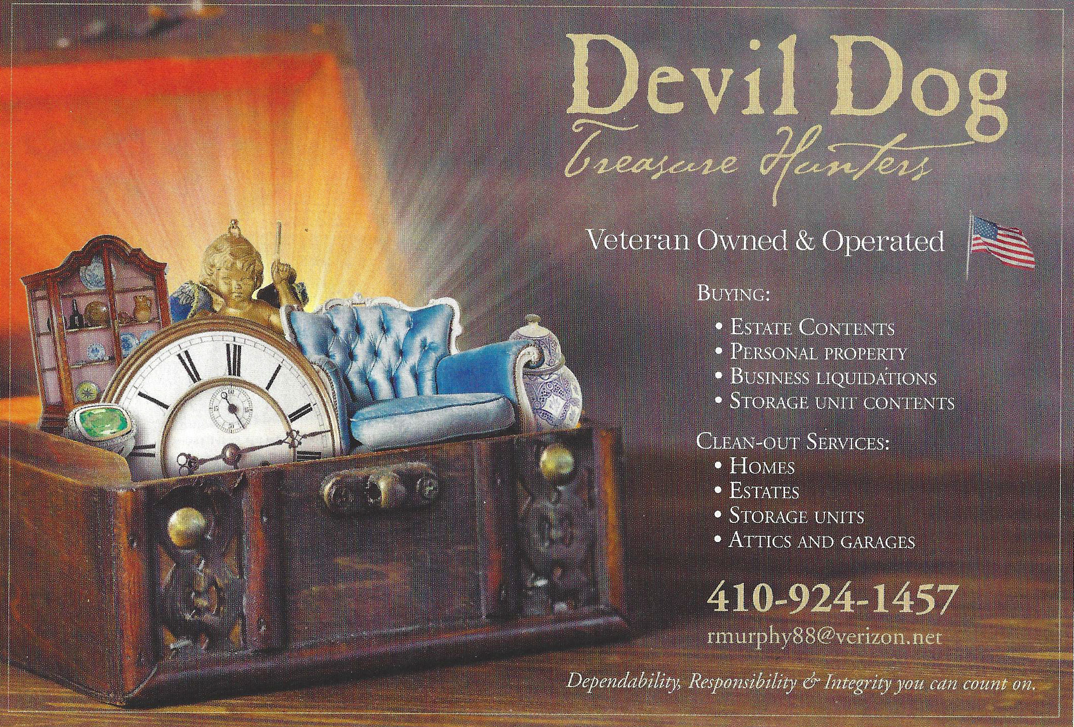 Devil Dog Treasure Hunters reviews | Appraisal Services at 102 Calvert St - Easton MD